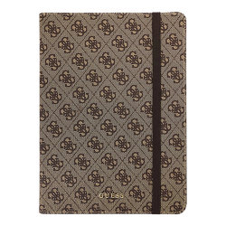 Чехол Guess 4G collection Folio для iPad Air (2019), коричневый