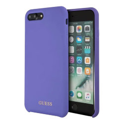 Чехол Guess Silicone для iPhone 7 Plus/8 Plus, фиолетовый