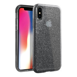Чехол Uniq Clarion Tinsel для iPhone XS Max, Smoke