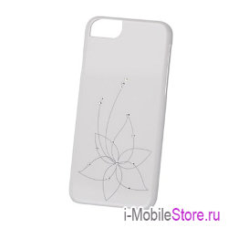 Чехол iCover Swarovski New Design для iPhone 6 Plus/6s Plus, белый