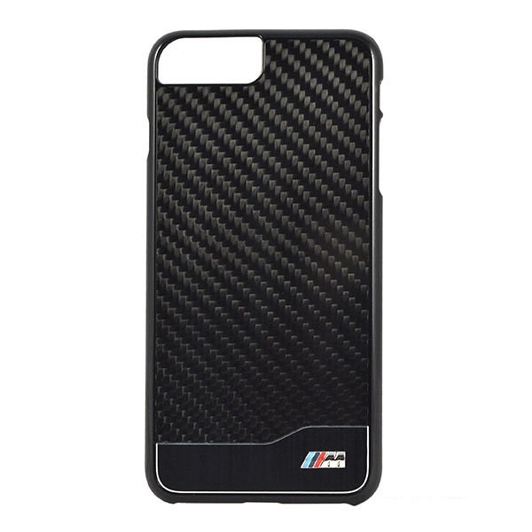 Чехол BMW M-Collection Aluminium Carbon для iPhone 7 Plus/8 Plus, черный