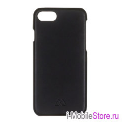 Кожаный чехол Moodz Soft Leather Hard для iPhone 7/8/SE 2020, Notte