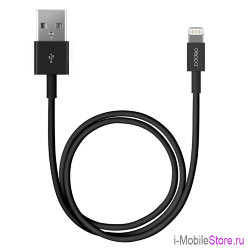 Кабель Deppa Lightning/USB (1.2 м), черный