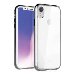 Чехол Uniq Glacier Xtreme для iPhone XR, серебристый