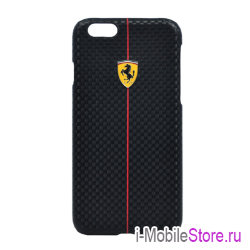 Чехол Ferrari Formula One Hard для iPhone 6/6s, черный