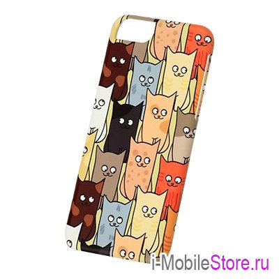 Чехол iCover Cats Comics 03 для iPhone 6/6s