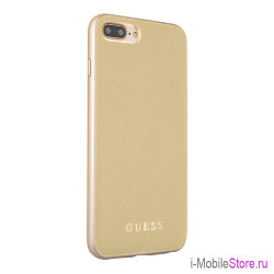 Чехол Guess Iridescent Hard для iPhone 7 Plus/8 Plus, золотой