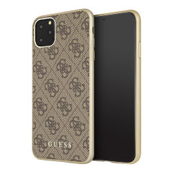 Чехол Guess 4G Collection Hard для iPhone 11 Pro Max, коричневый
