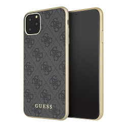 Чехол Guess 4G Collection Hard для iPhone 11 Pro Max, серый