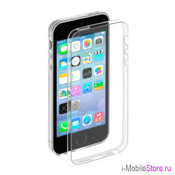 Чехол Deppa Gel Case для iPhone 5/5s, прозрачный