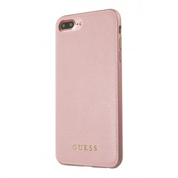 Чехол Guess Iridescent Hard для iPhone 7 Plus/8 Plus, розовый