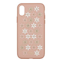 Чехол Luna Aristo Daisies для iPhone XR, розовый