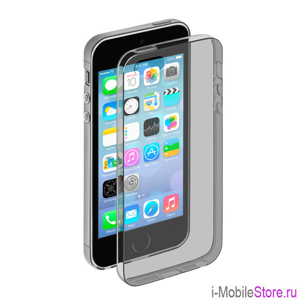 Чехол Deppa Gel Case для iPhone 5/5s, серый