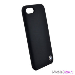 Чехол BMW Signature Liquid silicone для iPhone 7/8/SE 2020, черный