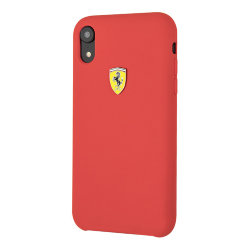 Чехол Ferrari On Track SF Silicone для iPhone XR, красный