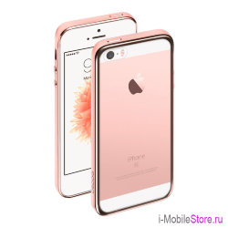 Чехол Deppa Gel Plus для iPhone 5/5s, розовый