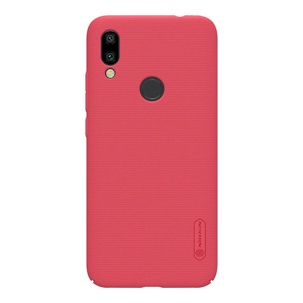 Чехол Nillkin Super Frosted Shield для Xiaomi Redmi 7, красный