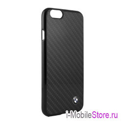 Чехол BMW Signature Real Carbon Hard для iPhone 6/6s, черный