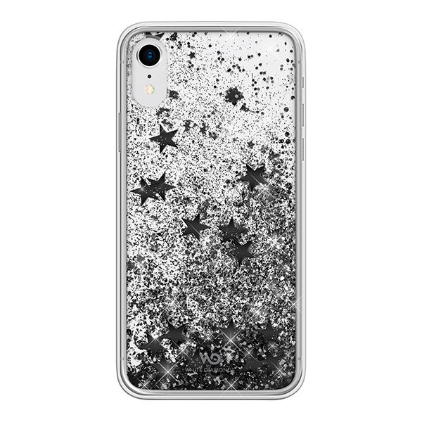 Чехол White Diamonds Sparkle для iPhone XR, черный