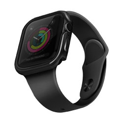 Чехол Uniq Valencia aluminium для Apple Watch 4/5/6/SE 40 мм, серый