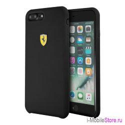 Чехол Ferrari On Track SF Silicone для iPhone 7 Plus/8 Plus, черный