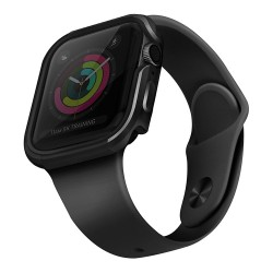 Чехол Uniq Valencia aluminium для Apple Watch 4/5/6/SE 44 мм, серый