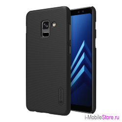 Чехол Nillkin Frosted Shield для Galaxy A8 Plus (2018), черный