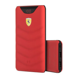 Аккумулятор CG Mobile Ferrari Wireless Power Bank 10000 mAh FEOPBW10KQURE, красный