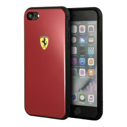 Чехол Ferrari Acrylic On-Track Hard для iPhone 7/8/SE 2020, красный