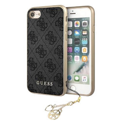 Чехол Guess 4G Charms Hard для iPhone 7/8/SE 2020, серый
