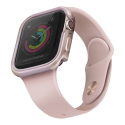 Чехол Uniq Valencia aluminium для Apple Watch 4/5/6/SE 44 мм, розовый