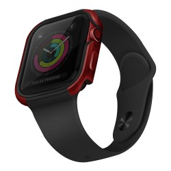 Чехол Uniq Valencia aluminium для Apple Watch 4/5/6/SE 44 мм, красный