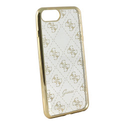 Чехол Guess 4G Transparent Hard для iPhone 7 Plus/8 Plus, золотой