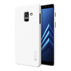 Чехол Nillkin Frosted Shield для Galaxy A8 Plus (2018), белый