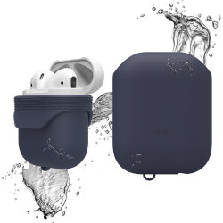 Чехол Elago Waterproof case для кейса AirPods, синий