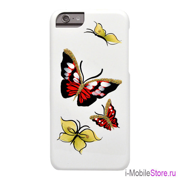 Чехол iCover Butterfly Ruby для iPhone 6/6s