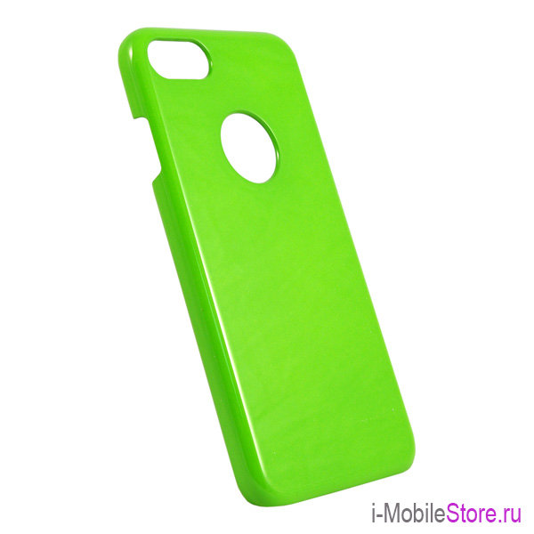 Чехол iCover Glossy Hole для iPhone 7/8/SE 2020, Lime Green