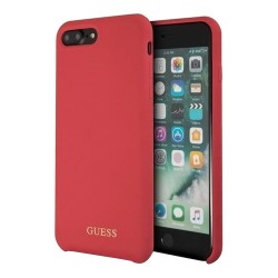Чехол Guess Silicone для iPhone 7 Plus/8 Plus, красный