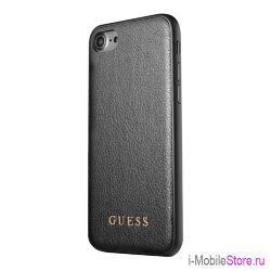 Чехол Guess Iridescent Hard для iPhone 7/8/SE 2020, черный