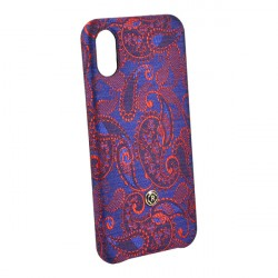 Чехол Revested Silk Collection Paisley для iPhone X/XS