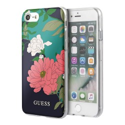 Чехол Guess Flower Hard Shiny N.1 для iPhone 7/8/SE 2020, зеленый