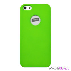 Чехол iCover Rubber Hole для iPhone 5s SE, Lime Green