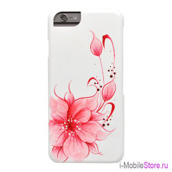 Чехол iCover HP Flower Pink для iPhone 6/6s