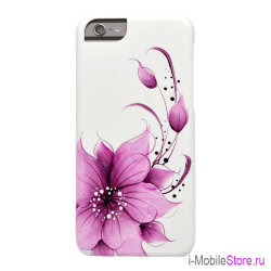 Чехол iCover HP Flower Purple для iPhone 6/6s