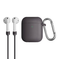 Чехол Uniq Vencer для AirPods 2 (wireless), серый
