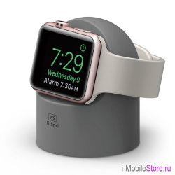 Док-станция Elago W2 Night Stand для Apple Watch, серая