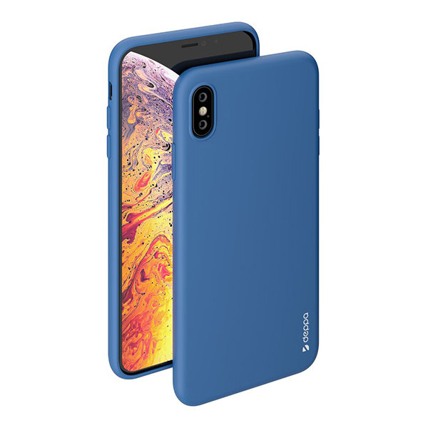 Чехол Deppa Gel Color Case для iPhone XS Max, синий