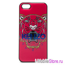 Чехол Kenzo Tiger Head Hard для iPhone 5s/SE, Teaberry