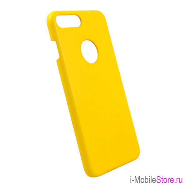 Чехол iCover Rubber Hole для iPhone 7 Plus/8 Plus, желтый