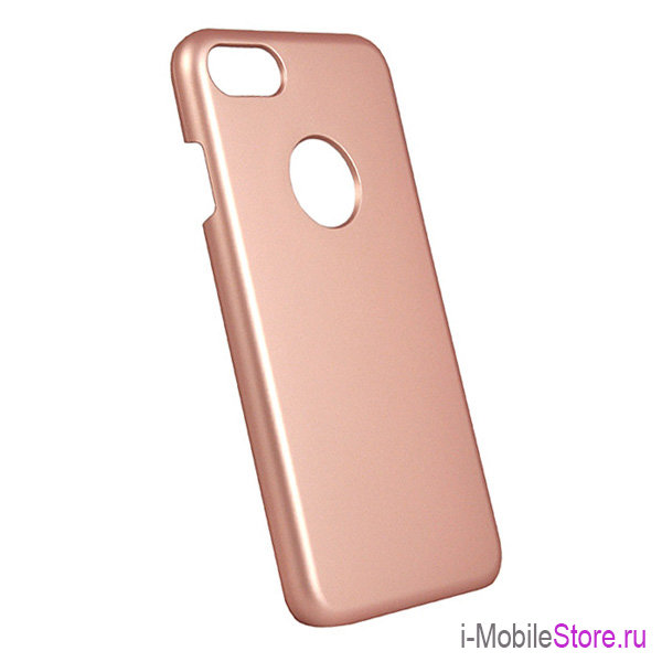 Чехол iCover Rubber Hole для iPhone 7/8/SE 2020, Rose Gold